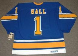 $enCountryForm.capitalKeyWord Australia - GLENN HALL St. Louis Blues 1967 CCM Vintage Turn Back Hockey Jersey All Stitched Top-quality Any Name Any Number Any Size Goalie-Cut