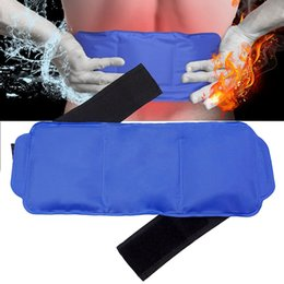 Reusable Gel Packs Australia - With Strap Elastic Gel Wrap Portable Reusable Multiple-use Body Hot And Cold Shoulder Pain Relief Ice Pack Set Wrist Soft Knee