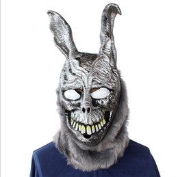 $enCountryForm.capitalKeyWord UK - 2019 Halloween costumes, high quality party supplies and toys Frankie silver rabbit head gearWedding Christmas bar party mask