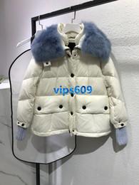 $enCountryForm.capitalKeyWord NZ - High end women girls Down Jacket Stand Collar White Duck Down Fashion Coat Ladies Light Jacket Long Sleeve Zipper Clothes tops coat
