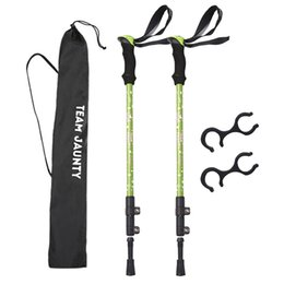 nordic poles Australia - Lightweight Trekking Pole Nordic Walk Stick Cane Climb Replacement Alpenstock Durable Outdoor Hike Protector Cap Tip Rubber