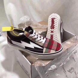 554123d429f 2019 news SALE Revenge x Storm Old Skool Designer Cavnas Sneakers Womens Men  Low Fashion Current Skateboard Casual Shoes LZDBOSS