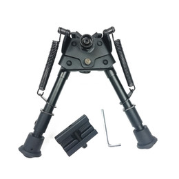 "rail bipod NZ - 6~9"" Harris Style Bipod Heavy Duty Swivel Pivot Spring Leg Return Picatinny Rail weaver adapter (21mm) optional"