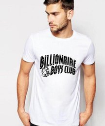 Discount mens clubbing clothes - Fashion T Shirts For Men Women Hip Hop Cotton Mens Clothing Tshirt billionaire Boys Club Man Tops Summer Short Sleeve Sh