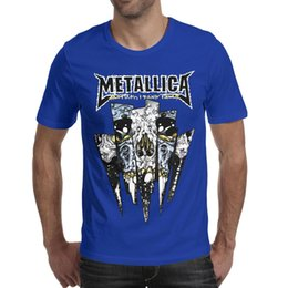 $enCountryForm.capitalKeyWord UK - Metallica Monster eye teeth band 2019 Summer personalised T Shirt For Men champion cotton shirts