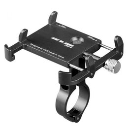 Universal phone moUnt for bicycle online shopping - Aluminum Universal Bicycle Phone Mount Holder MTB Mountain Bike Motorcycle Handlebar Clip Stand for quot to quot Smartphones