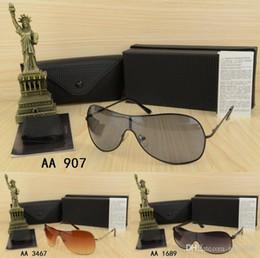 2018 Оптовая Высокое качество бренда Большой размер Металл Дизайн мужские женские солнцезащитные очки с оригинальной коробке очки Открытый Goggle Унисекс гла на Распродаже