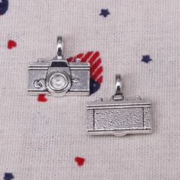$enCountryForm.capitalKeyWord Australia - 78pcs Charms camera 22*21mm Pendant,Tibetan Silver Pendant,For DIY Necklace & Bracelets Jewelry Accessories