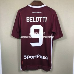 $enCountryForm.capitalKeyWord NZ - Maglia Andrea Belotti Turin Torino 2018 2019 18 19 Home wine Maroon soccer jerseys Shirts kits Simone Zaza custom name and number