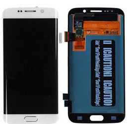 Lcd screen samsung gaLaxy s6 edge online shopping - 5 inch SUPER AMOLED Display for SAMSUNG Galaxy S6 edge G925 G925I G925F Touch Screen Digitizer
