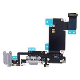 $enCountryForm.capitalKeyWord Australia - Original iPhone 6 6 Plus Charging Port Flex Cable FOR Gray Black & White Headphone Audio Dock Connector