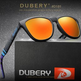 package cycles Australia - DUBERY men's color film polarized belt packaging sports riding casual cycling sunglasses fishing glasses