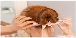 $enCountryForm.capitalKeyWord Australia - Women's Fashion New Hair Accessories Band Hair Bun Head Manufacturer Hair Care Magic Bowknot Tape Tool