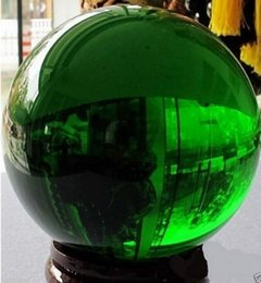 $enCountryForm.capitalKeyWord Australia - New + Hot Asian Natural Quartz Green Magic Crystal Healing Ball Sphere 80MM+Stand