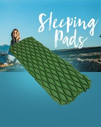 Air mAttresses online shopping - Nylon Easy To Install Air Cushion Ligation Prevention Leakage Proof Sleeping Mattress Single Person Travel Portable Pads Anti Wear csI1