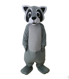 $enCountryForm.capitalKeyWord UK - Professional custom Little Raccoon Mascot Costume grey Raccoon Character Clothes Halloween festival Party Fancy Dress