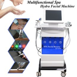 used microdermabrasion machines Australia - Used spa equipment hydro facial skin deep cleaning machine crystal microdermabrasion fine lines removal BIO skin smooth hydro facial device