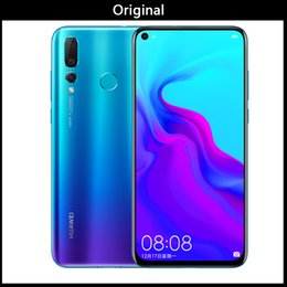$enCountryForm.capitalKeyWord Australia - brand new Huawei nova 4 48MP Triple Cameras 8GB+128GB China Version 48MP Triple Cameras Face Fingerprint Identification 6.4 inch Android9.0