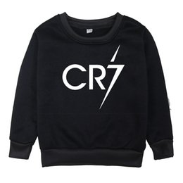 clothes for years old Australia - Ronaldo Printed Kids Boys Girls Pullover Sweater Children Casual Warm 7 Colors Winter Sweatshirt Clothes For 2-14 Years Old