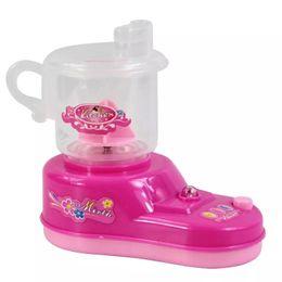 Pink Toy Kitchen Set Australia - Vibration Children's Mini Kitchen Toy Set Simulating Small Home Appliances and Home Toys Mini Juice Press