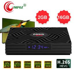 $enCountryForm.capitalKeyWord Australia - 2019 Factory OEM Genuine M9S W6 Android 7.1 TV BOX 2GB16GB Amlogic S905W Quad Core Suppot H.265 4K 30tps Media Player IPTV Box Better X96