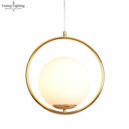 $enCountryForm.capitalKeyWord Australia - Modern LED Table Lamp Pendant Lamp Light Shade Glass Ball Lamp Desk Light For Bedroom Living Room Floor Bedside Gold Designs