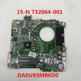 Pavilion Motherboard Australia - For Pavilion 15-N 15-N005TX 15-N028TX Laptop motherboard 732064-001 DA0U93MB6D0 Intel HM76 DDR3 100% full Testd