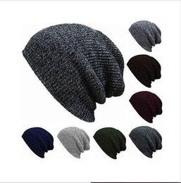 $enCountryForm.capitalKeyWord Australia - 2019 Winter Beanies Solid Color Hat Unisex Plain Warm Soft Beanie Skull Knit Cap Hats Knitted Touca Gorro Caps For Men Women