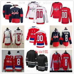 dd4008834 Red Toms NZ - Custom Washington Capitals Hockey Jersey Red 92 Evgeny  Kuznetsov 43 Tom Wilson