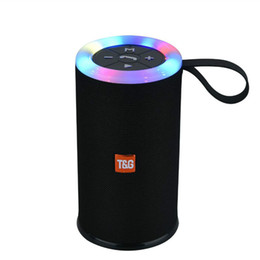 $enCountryForm.capitalKeyWord Australia - Bluetooth LED Light Mini Speaker TG512 Stereo Subwoofer Outdoor Portable Wireless Speakers HiFi Loudspeaker Waterproof Soundbox