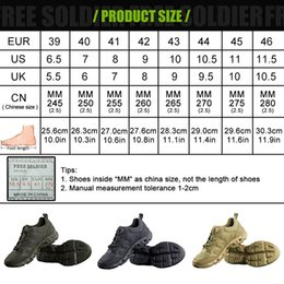 camp shoes for men Canada - FREE SOLDIER outdoor sports camping hiking tactical military upstream shoes breathable quick-drying shoes for men
