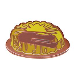 Christmas Prank Gifts Australia - He put my stuff in jello again...Dwight Schrute The Office Jim Halpert Prank Pin Badge