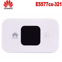 lte modem huawei Australia - Unlocked Huawei E5577 e5577cs-321 4G LTE Cat4 Mobile Hotspot Wireless Router Carfi 4G 150Mbs Mifi Modem with SIM card slot