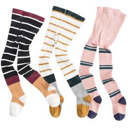 ea6a8ff3910e2 3pcs lot Girls Tights Kids Little Girls Stockings Baby Pantyhose Striped  Knit Tights Cotton Warm Toddler Panty Hose For Kids Boy J190523