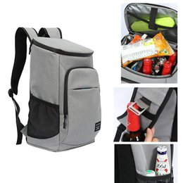 DENUONISS 30L Large Men Insulation Cooler Backpack Travel Picnic Thermal Waterproof Beer Fresh Keeper Insulation Mochila on Sale