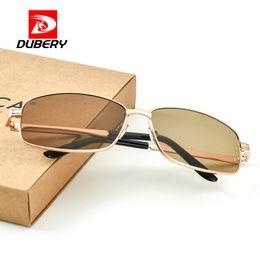Sun wearing glaSSeS online shopping - DUBERY New Glass Lens Sunglasses Men Anti scratch Wear Sun Glasses Fashion Male Driving Goggles lentes de sol hombre DA209