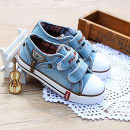 girl top bottom 2019 - 2019 1 To 12 Years Old Kids Canvas Shoes Baby Boys And Girls Top Quality ComfortableShoes Sports Shoes Soft Bottom Anti-