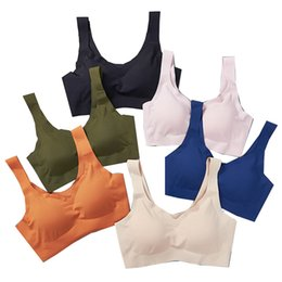 Discount khaki green bra - High-elastic Sports Bra 2026 for Women Pocket Yoga Workout Gym Bras Soft And Comfortable Relaxed feeling(M L XL)Only Bra
