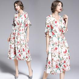 Online Chiffon Großhandel VertriebspartnerSeide Stoff Blumendruck v0nwON8m