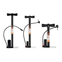 Ingrosso Modelli domestici ad alta pressione a pedale attivati con pompa ad aria Mini pompa da pavimento per bicicletta portatile per bicicletta # 233722