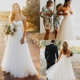 Shop Simple Cheap Bohemian Style Wedding Dress UK | Simple Cheap ...