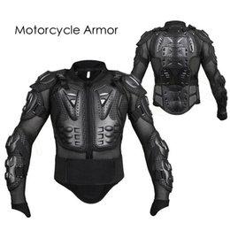Toptan satış Motosiklet Zırh Ceket Yarış Takım Elbise Motocross Koruyucu Omurga Göğüs Koruma Dişli M L XL XXL XXXL HHA248