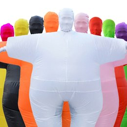 Adult Anime Games Australia - Adult Anime Cosplay Chub Inflatable Costume Blow Up Color Full Body Costume Jumpsuit 9 Colors halloween Costumes For Women