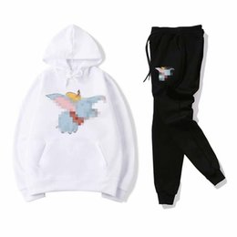 $enCountryForm.capitalKeyWord UK - Baby Children Clothing Boys and Girls Hooded and Pant Tracksuits Long Sleeved Mens Sportswear Fashion Leisure Suit Spring and Autumn