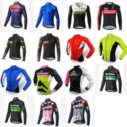 bicycle clothing merida NZ - Breathable MERIDA team Men Cycling long Sleeves jersey Bicycle Clothing Ropa Ciclismo Mtb Quick Dry ourdoor sportwear V62944