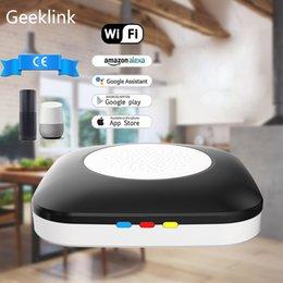 Mini Wifi 4g Australia - Geeklink Mini Host Automation Remote Control WiFi+IR+RF+4G APP Voice Controller Work for Alexa Google Home for Wifi Products
