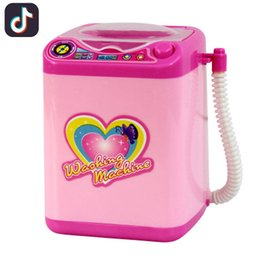 $enCountryForm.capitalKeyWord Australia - Mini electric simulation washing machine puff electric children Shaking the same paragraph will turn to drain the house toy