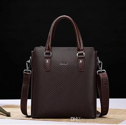$enCountryForm.capitalKeyWord NZ - wholesale brand bag leather handbag. British men men single shoulder bag boutique embossed embossed leather briefcase full of fashion busine