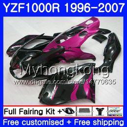 $enCountryForm.capitalKeyWord Australia - Body For YAMAHA YZF1000R Thunderace Rose flames hot 02 03 04 05 06 07 238HM.49 YZF 1000R YZF-1000R 2002 2003 2004 2005 2006 2007 Fairing kit