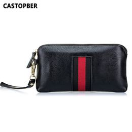 cowhide bags purses UK - Fashion New Designer Women Day Clutches Bags Leather Womens Wallets And Purses Genuine Leather Cowhide Ladies Bag High Quality Y19052302
